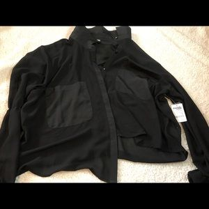 Brand new black blouse